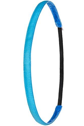 Ivybands Anti-Rutsch Haarband Super Thin, Neon-Blau, One size, IVY005