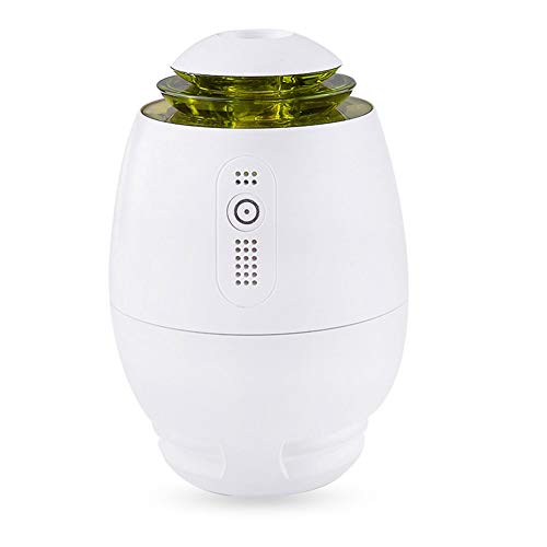 Luftbefeuchter Nachtlicht Ruitx Mini USB Car Humidifier Night Lght Portable Travelling Size Car Diffuser Cool Large Mist Air Humidifier Purifier Air Refresher for Office Bedroom Living Room,Green