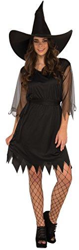 Imagen de rubie's 55006  disfraz de bruja para adultas, negro, talla unica standard