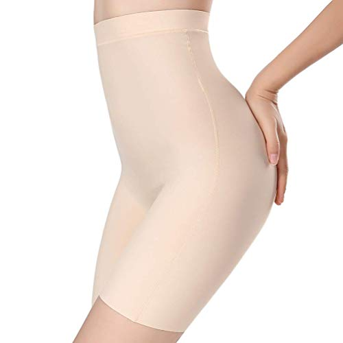 Everbellus Tummy Control Shapewear Shorts für Damen Hohe Taille Shaping Panties Unterwäsche Beige Medium - Shapewear Tummy Control