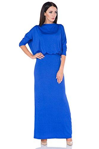 FUTURO FASHION Damen Column Kleid Königsblau