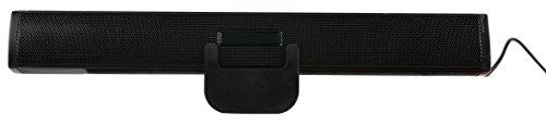 Lautsprecher mit Clip für die Befestigung | Speakers | kraftvoller Stereo Sound | komkpaktes Design | zum Anklippen oder Aufstellen | Standard-USB-Anschluss für Ihr Odys Winpad 10 | Winpad Pro X10 | Winpad V10 - 2in1 | Winpad 12 Tablet ()