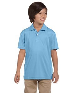 Youth Double Mesh Polo LIGHT BLUE XL (Klassisches Mesh Polo Blau)