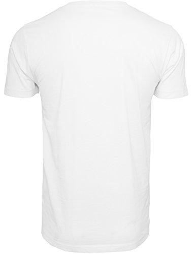 MERCHCODE Herren Che Guevara Blank Tee T-Shirt white