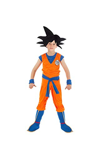 Chaks Son Goku-Dragonball Z-Lizenzkostüm für Kinder orange-blau 152 (11-12 Jahre)