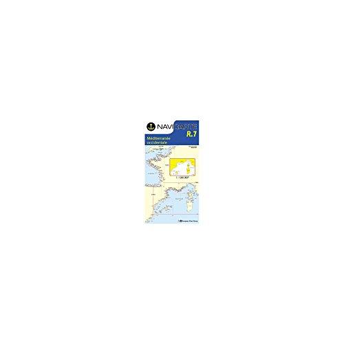 Carte marine : Radiosignaux Méditerrannée