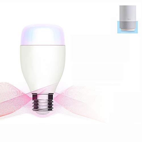 Smart WiFi-Glühbirne, RGB dimmbare LED-Leuchtmittel, Kompatibel mit Alexa Google Home, 16 Millionen Farben, APP Fernbedienung von iOS/Android Geräten