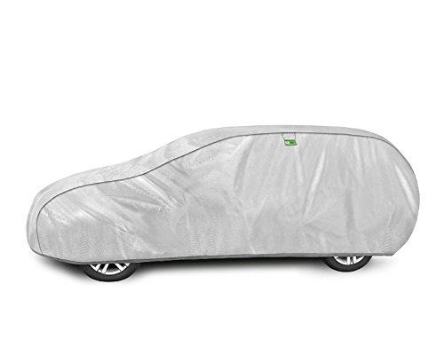 Preisvergleich Produktbild Kegel-Blazusiak Abdeckpläne Schutzhülle Vollgarage Autogarage Ganzgarage Haube SILVER Garage XL h / k-08
