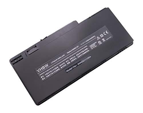 vhbw Li-Polymer Batterie 5400mAh (11.1V) pour Notebook HP Pavilion dm3-1005tx, dm3-1006au, dm3-1006ax, dm3-1006tx, dm3-1007au comme HSTNN-OB0L.