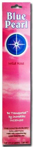 Blue Pearl Zeitgenössische Kollektion Räucherstäbchen, Wild Rose, 10Gramm Zeitgenössische 10