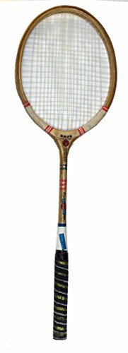 Protoner BB Wood Ball Badminton Racquet, Adult G3-3 1/2-inch