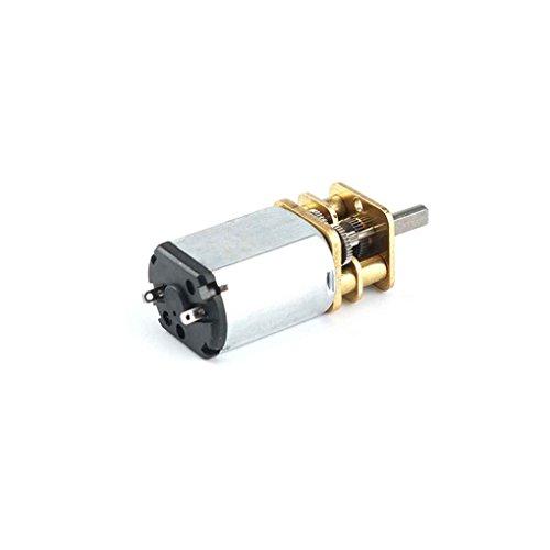 Bobury GA13YN030 DC 6V 70RMP/100RMP/200RMP 3mm Wellengetriebemotor Wissenschaftliche Arbeit Elektronische DIY Spielzeug HFG Reduction Motor (Dc-motoren Arbeiten)