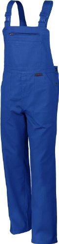 Qualitex Arbeits-Latzhose BW 270 - mehrere Farben 42,Kornblau