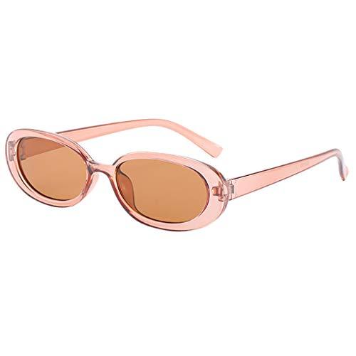 Makefortune Unisex Mode Kleine Sonnenbrille Vintage Retro Unregelmäßige Form ()