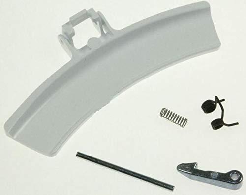 Electrolux AEG 4055237731 ORIGINAL Türgriff Handgriff weiß Türverriegelung Türverschluß komplett Trockner Wäschetrockner -