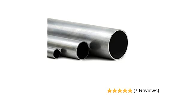 70cm auf Zuschnitt L/änge 700mm Aluminium Rundrohr AlMgSi05 /Ø 22x1,5mm