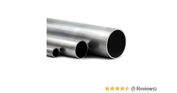 Aluminium Rundrohr AlMgSi05 /Ø 20x2mm L/änge 1700mm 170cm auf Zuschnitt