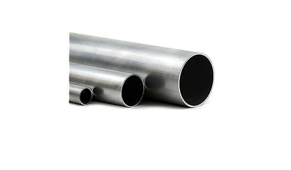 L/änge 700mm 70cm auf Zuschnitt Aluminium Rundrohr AlMgSi05 /Ø 40x1mm