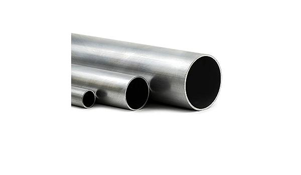 120cm auf Zuschnitt L/änge 1200mm Aluminium Rundrohr AlMgSi05 /Ø 30x2mm