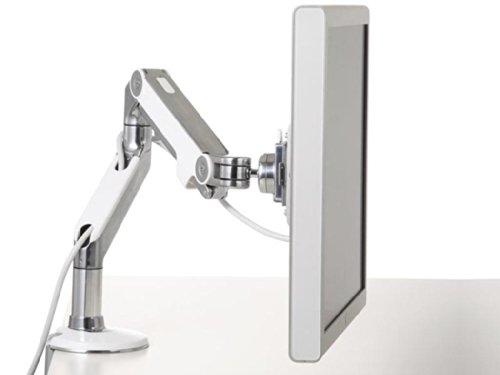 Humanscale Monitorhalterung, Metall, weiß, 68.00 x 14.00 x 52.00 cm -