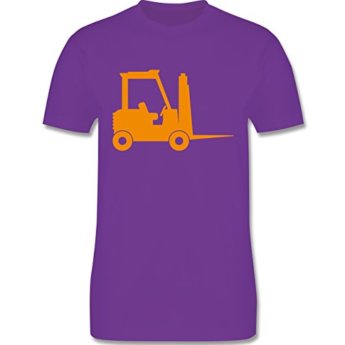 Andere Fahrzeuge - Gabelstapler - Herren Premium T-Shirt Lila