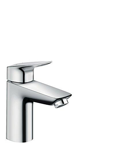 Hansgrohe - Waschtischarmatur, Push-Open Ablaufgarnitur, Chrom, Serie Logis 100