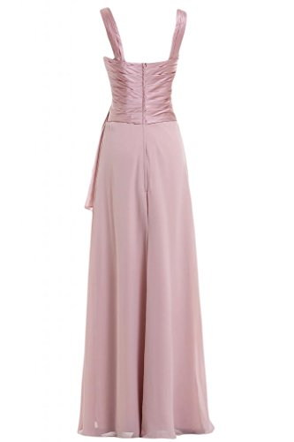 Sunvary elegante Spaghetti cinghie Pageant Gowns-Costume da damigella d'onore Rosa