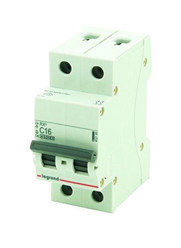 Legrand 790402186 Disjoncteur RX3 2P 4500A C16