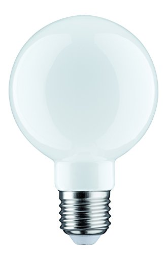 Paulmann 283.37 LED Globe Ø80mm 6W E27 230V Opal Warmweiß 28337 Leuchtmittel Lampe