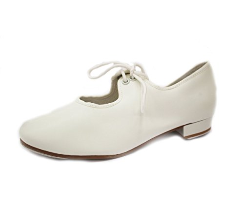 dance-depot-pvc-low-heel-student-tap-white-eu-38-uk-ad-5