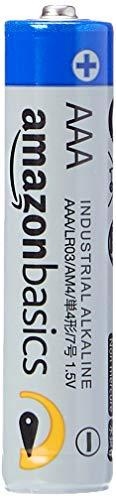 AmazonBasics AAA Industrie Alkalibatterien, 40er