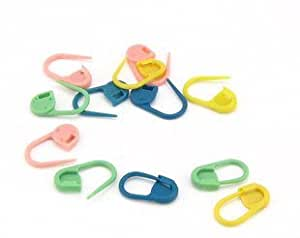 Approx.20Pcs Knitting Crochet Locking Stitch Markers / Can Also Be Used as A Nappy Pin on A New Baby Greeting Card