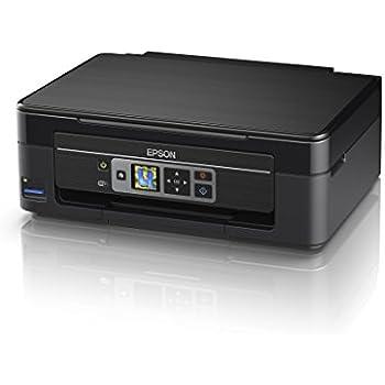 Epson Expression Home XP-352, Impresora (escáner, copiadora, WiFi, pantalla de 3.7 cm, cartuchos individuales, 4 colores, A4), Negro