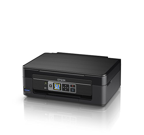 Epson Expression Home XP-352 3-in-1 Tintenstrahl-Multifunktionsgerät Drucker (Scanner, Kopierer, WiFi, 3,7 cm Display, Einzelpatronen, 4 Farben, DIN A4, Amazon Dash Replenishment-fähig) schwarz