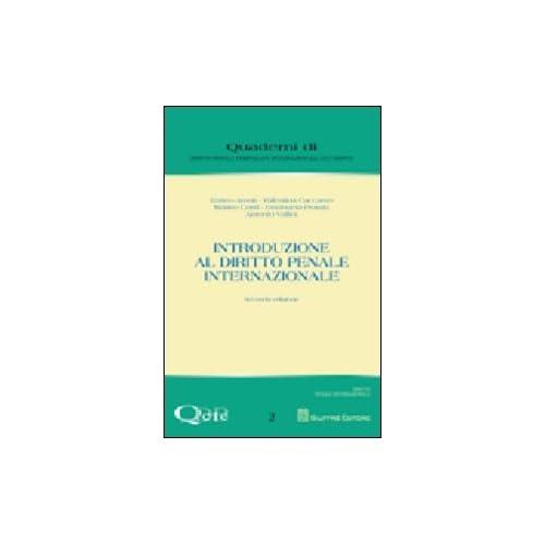 Introduzione Al Diritto Penale Internazionale