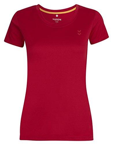 Hummel Damen T-Shirt Annette Short Sleeve Tee SS16 Vitual Pink