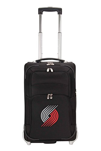 nba-portland-trail-blazers-denco-21-inch-carry-on-luggage-black