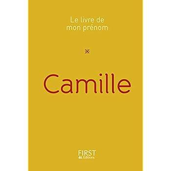 23 Le Livre de mon prénom - Camille