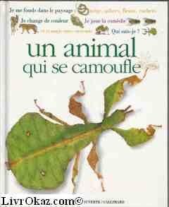 Qui suis-je ? un animal qui se camoufle par Sandie Sowler