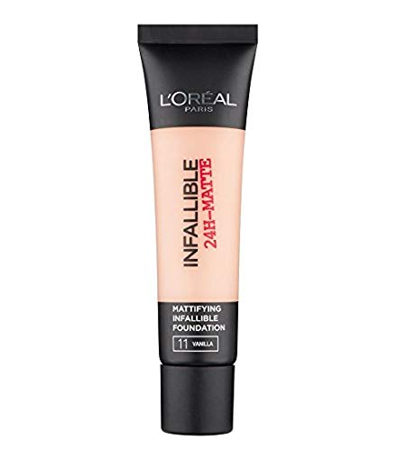 L'Oréal Infallible 24H Matte Foundation 11 Vanilla 35ml
