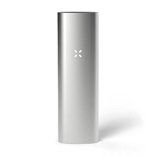 PAX 3 Tragbarer Vaporizer Premium - Grundausstattung für Kräuter - Neue Farbe - Matt Silber - 10 Jahre Herstellergarantie