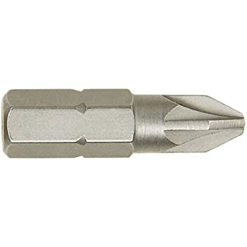 "Irwin 10504398 PZ2 Pozi 25mm 1//4"" Hex Screwdriver Impact Drill Bits Pack of 2"