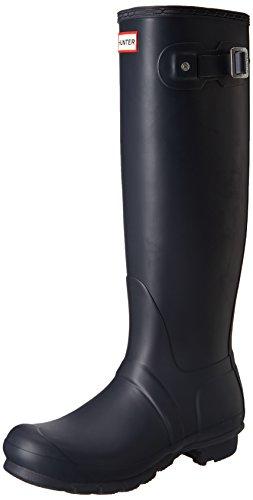 Hunter Original Tall, Damen Stiefel Blau (Navy)