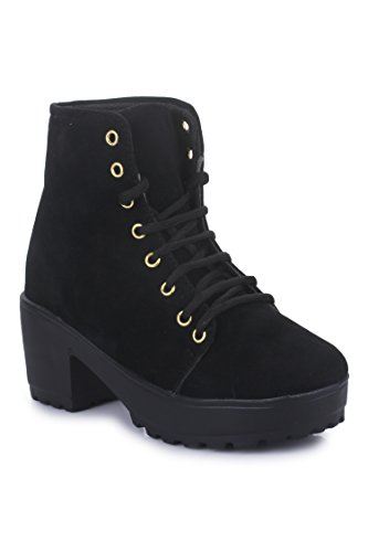 Beautiful Black color velvet metarial boots for womens from Shoe Swagg