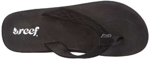 Reef Seaside, Tongs femme Noir (Black/Black)