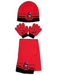 592ccdb60bce Amazon.fr   Rouge - Packs bonnet, écharpe et gants   Accessoires ...