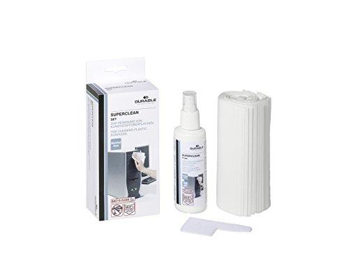 durable-571700-oberflachenreiniger-superclean-set-antibakteriell-125-ml-pumpspray-inklusiv-20-vliest