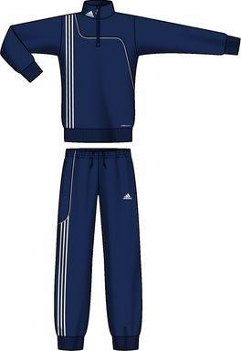 adidas Kinder TrainingsanzugSereno 11 Sweat Anzug, Marine, 176, V38030