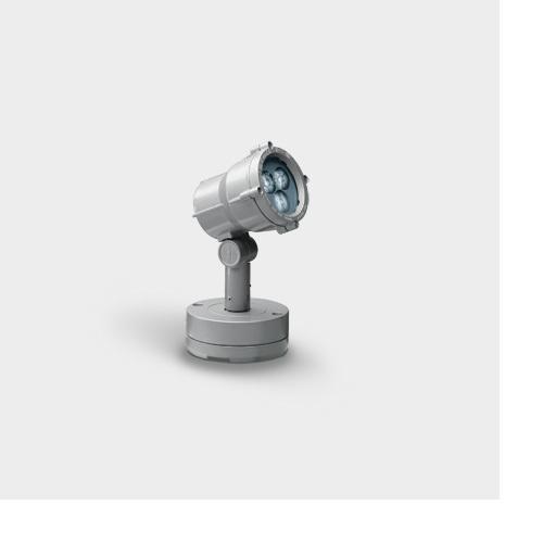 I GUZZINI ILLUMINAZIONE B591715 - MINIWOODY C/BASET.LED 3X1W WARM WHITE ELETT