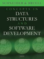 Concepts in Data Structures and Software Development